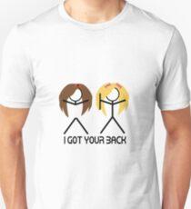 I Got Your Back Blonde Brunette 2 T-Shirt