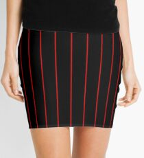 Firefighters Thin Red Line Symbolic Mini Skirt