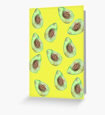 Avocado Mania Greeting Card