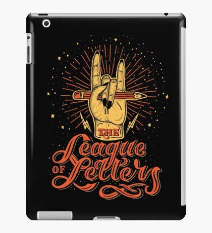 League of Letters iPad Case/Skin