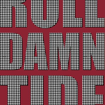 Houndstooth Roll Damn Tide by Sportswear