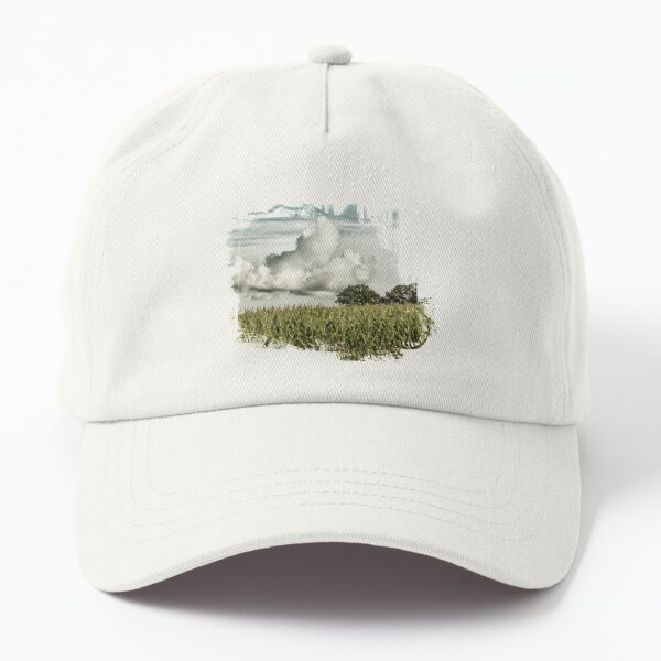 Cornfields and Clouds Dad Hat