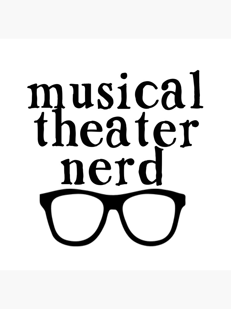 Nerd de teatro musical de jessguida