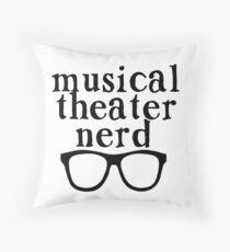 Cojín Nerd de teatro musical