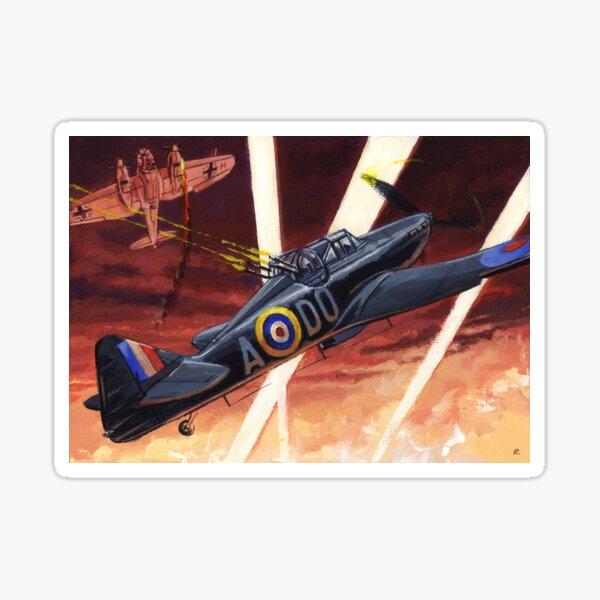 WW2 Boulton Paul Defiant 'Night FIghter' Sticker