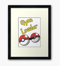 Gym Leader Framed Print