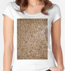 BAG OF Os (Textures) Women's Fitted Scoop T-Shirt