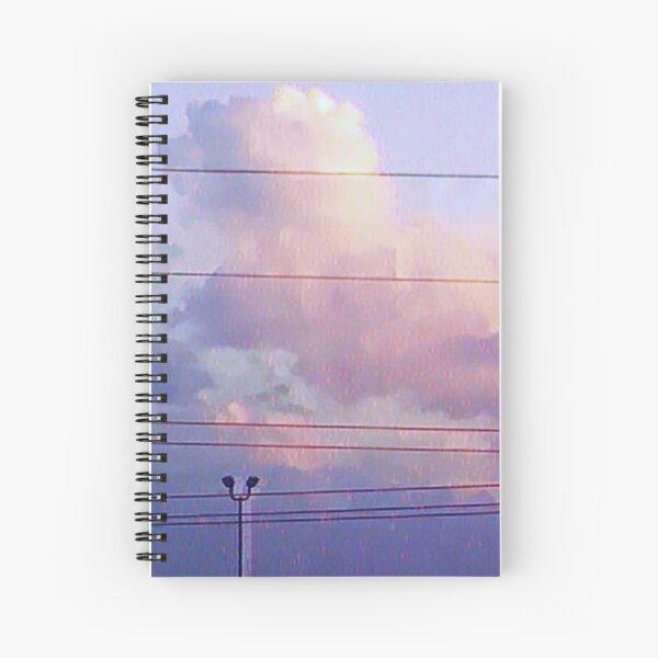 pastel sky Spiral Notebook