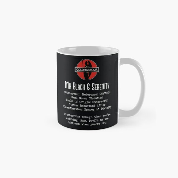Mr Black & Serenity Classic Mug