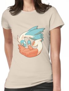 Latios and Latias Womens Fitted T-Shirt