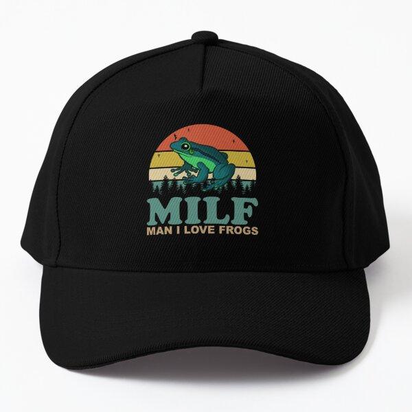MILF Man I Love Frogs Baseball Cap