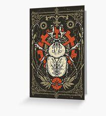 Doom Beetle 1 Greeting Card