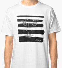 B&W Face  Classic T-Shirt