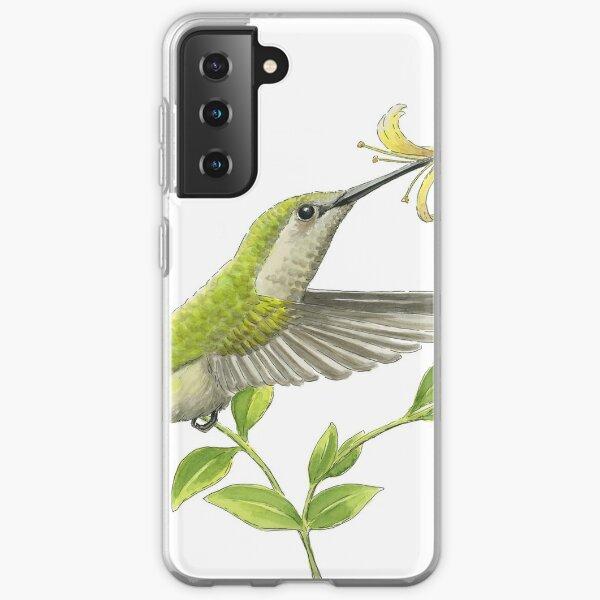 Sugar Rush [Anna's Hummingbird] Samsung Galaxy Soft Case