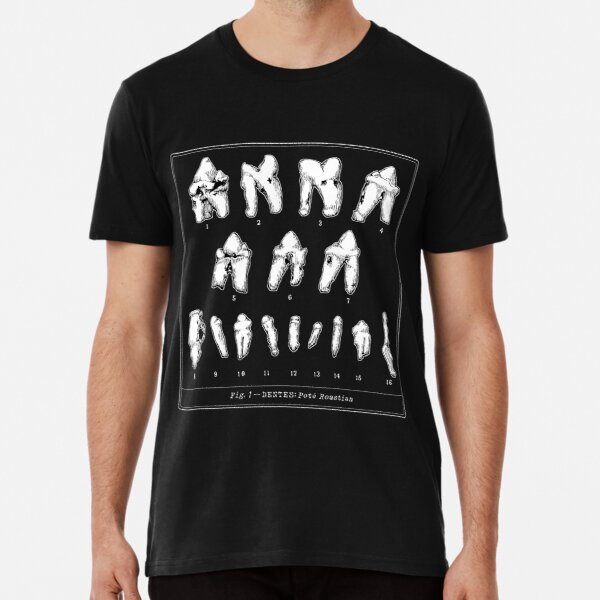 The Tooth Canvas Premium T-Shirt