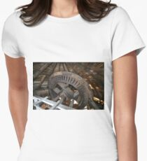 Cley Windmill machinery Women's Fitted T-Shirt