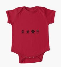 Moony, Wormtail, Padfoot and Prongs One Piece - Short Sleeve