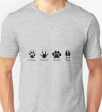 Moony, Wormtail, Padfoot and Prongs Unisex T-Shirt