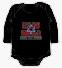 Israeli Krav Maga Magen David One Piece - Long Sleeve