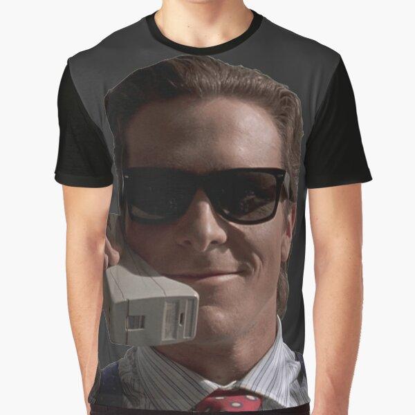 Patrick Bateman on Phone (American Psycho) Graphic T-Shirt