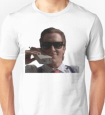 Patrick Bateman on Phone (American Psycho) T-Shirt