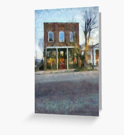 Pendergrass Building Greeting Card