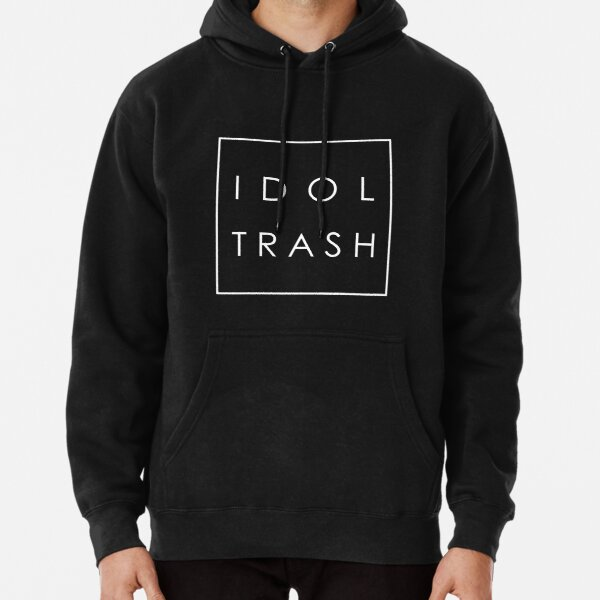Idol Trash (On Black) Pullover Hoodie
