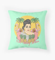 Bianca Del Rio 'Not Today Satan' Throw Pillow