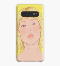 Lea- fashion illustration portrait Case/Skin for Samsung Galaxy