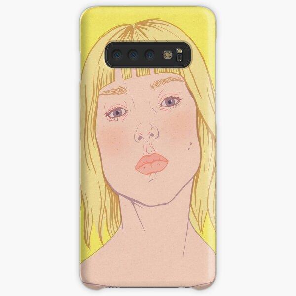 Lea- fashion illustration portrait Samsung Galaxy Snap Case