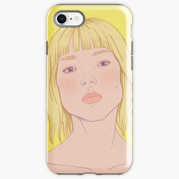 Lea- fashion illustration portrait iPhone Tough Case