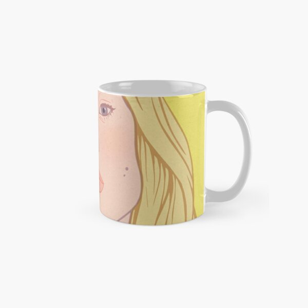 Lea- fashion illustration portrait Classic Mug