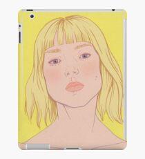 Lea- fashion illustration portrait iPad Case/Skin