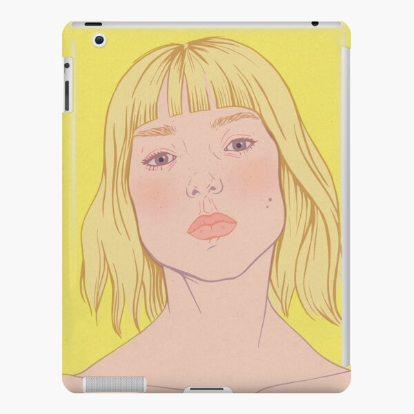 Lea- fashion illustration portrait iPad Snap Case