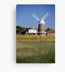 Cley Windmill and reedbeds Canvas Print