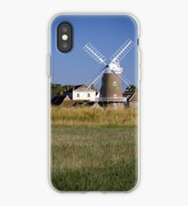 Cley Windmill and reedbeds iPhone Case