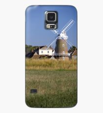 Cley Windmill and reedbeds Case/Skin for Samsung Galaxy