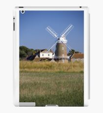Cley Windmill and reedbeds iPad Case/Skin