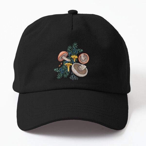 Dark dream forest Dad Hat