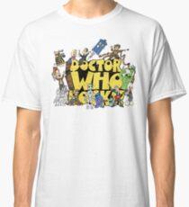 Doctor Who Rocks Classic T-Shirt