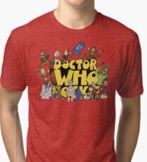 Doctor Who Rocks Tri-blend T-Shirt