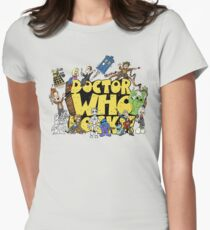 Doctor Who Rocks Womens Fitted T-Shirt