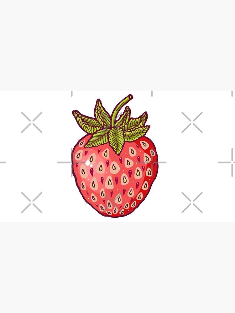 strawberry fields by smalldrawing