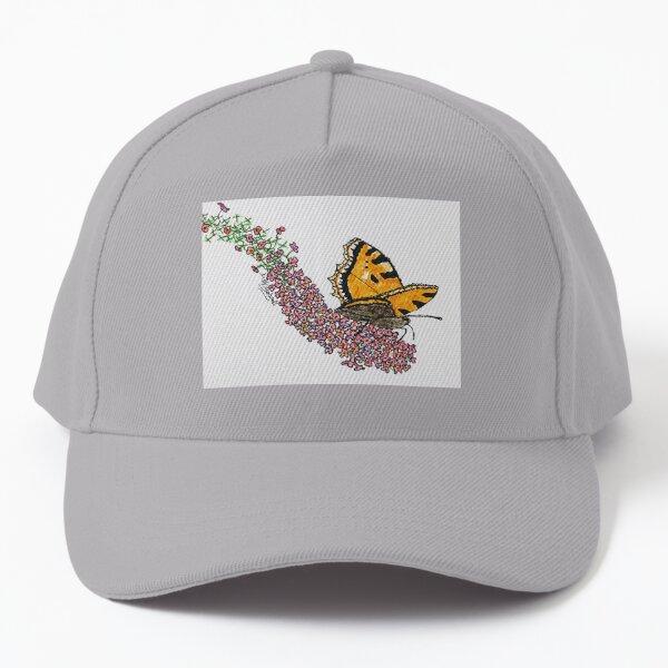 Butterfly on  Buddlea Baseball Cap