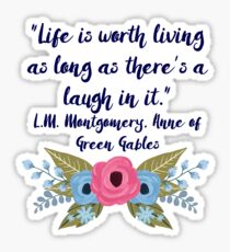 Anne of Green Gables, Laughter Sticker