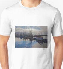 Newport Harbor, Newport Oregon Unisex T-Shirt