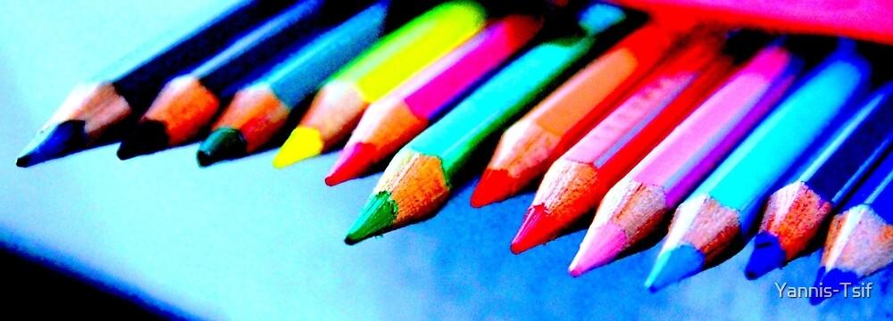 coloured pencils by Yannis-Tsif