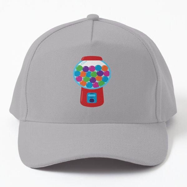 Retro Gumball Machine Baseball Cap