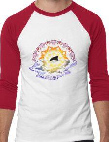 Mandala Sunset Men's Baseball ¾ T-Shirt