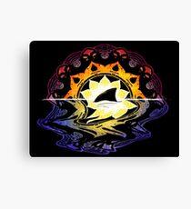 Mandala Sunset Canvas Print